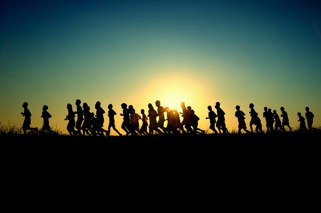 running-sun
